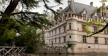 Château d'Azay-le-Rideau enchants on the Indre River, France. Photo via Flickr:Anna & Michal