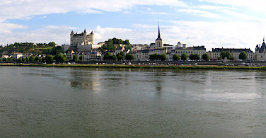 Château de Saumur in the Maine-et-Loire department, France. Photo via Flickr:Brian Burger