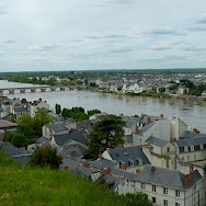 Saumur along the Loire River in France. Flickr:Laurent Goujon