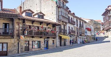 Quiet street in Comillas, Spain. Photo via Flickr:Francisco Lopez Riveiros