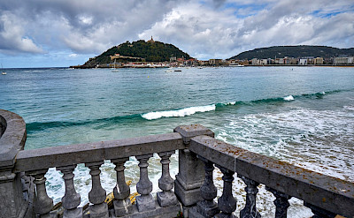 Taking in the view in San Sebastian, Basque Country, Spain. Photo by Patrick Hickey.