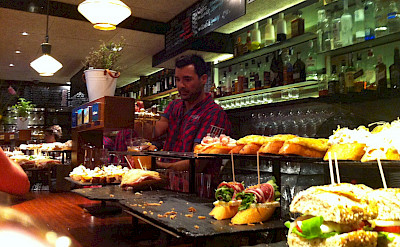 Tapas from the bar in San Sebastian, Spain. Flickr:Jeremy Keith