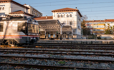 Train station in Vitoria-Gasteiz, Spain. Wikimedia Commons:Basotxerri