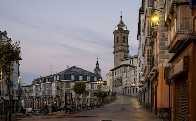 Calle San Francisco in Vitoria-Gasteiz, Spain. Wikimedia Commons:Basotxerri