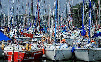 Boats in the Harbor. Masuria Lake District, Poland. Flickr:Ministry of Foreign Affairs Republic of Poland