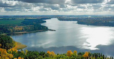 Masurian Lake District in Poland. Photo via Wikimedia Commons:J. Kunicki-Olecko