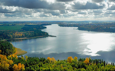 Masurian Lake District in Poland. CC:J. Kunicki-Olecko