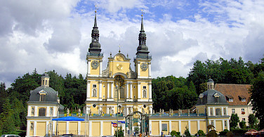 Sanctuary of St. Mary in Heilige Linde, Masuria Lake District, Poland. Photo courtesy of DNV Tours.