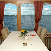 Dining room - MS Classic Lady | Bike & Boat Tours