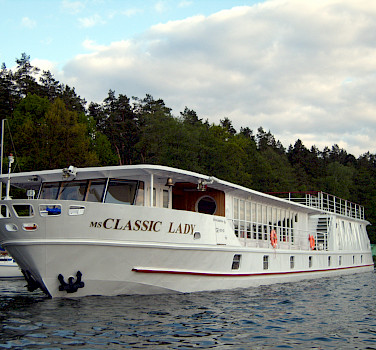 Your accommodations, the MS Classic Lady