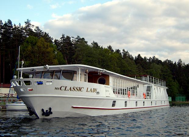 MS Classic Lady | Bike & Boat Tours