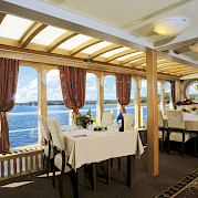 Dining Area - MS Classic Lady | Bike & Boat Tours