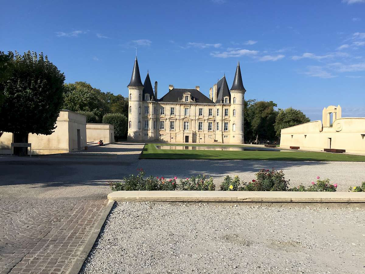 Small castle near pichon