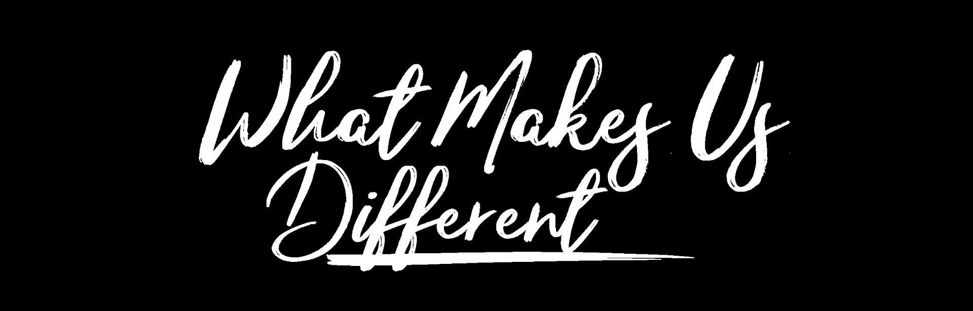 Lo que nos hace diferentes