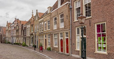 Hofstraat in Dordrecht, South Holland, the Netherlands. Photo via Flickr:Paul van de Velde