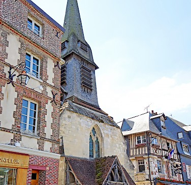 Church of St. Etienne, Honfleur, Normandy, France. Photo via Flickr:Dennis Jarvis