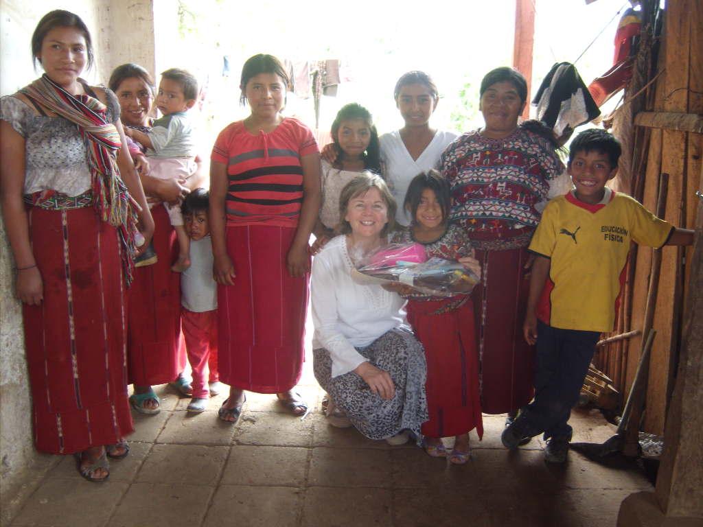 Mary in Guatemala