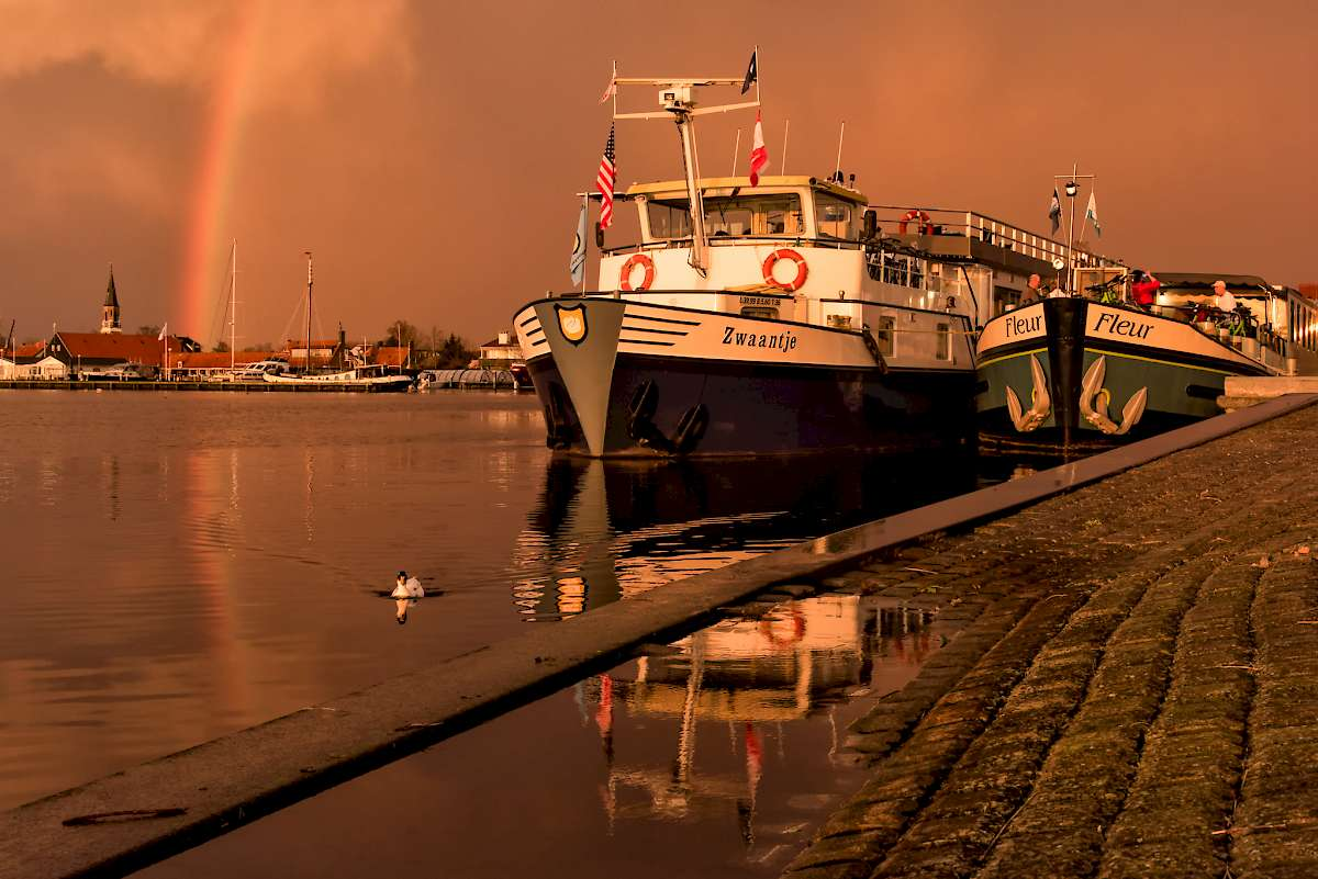 Rainbow in Alphen