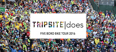 Tripsite Does: Five Boro Bike Tour 2016