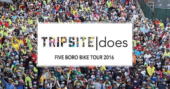 Tripsite Does: Five Boro Bike Tour 2016