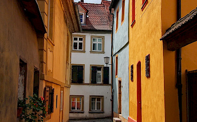 Cobblestone streets in Bamberg, Germany. Flickr:MO S