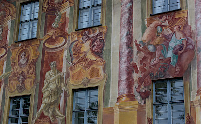 Murals in Bamberg, Germany. Photo courtesy of Actieve Vaarvakanties - Sander van der Veer