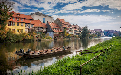 "Bamberg, known as ""Little Venice"" on the Regnitz River in Germany. Flicr:Heinz Bunse"