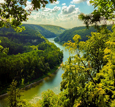 Danube River near Kelheim, Germany. Photo via Flickr:Nils Erik Mühlfried