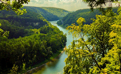 Danube River near Kelheim, Germany. Flickr:Nils Erik Mühlfried
