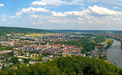Panoramic of Kelheim at the confluence of Rivers Altmühl and Danube, Germany. Flickr:Wolfgang Manousek