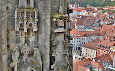 View from Dom in Regensburg, Germany. Flickr:Thomas Kraus