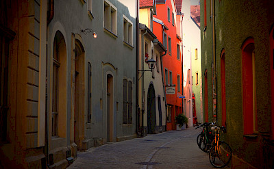 Waaggasschen in Regensburg, Germany. Flickr:Stefan Jurca