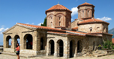 Monastery and Church of Saint Naum, Ohrid, Macedonia. Photo via Wikimedia Commons:Petar Milosevic