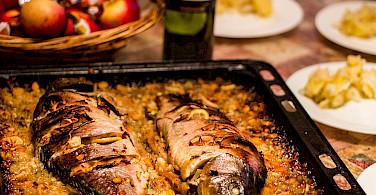 Fine fish from Lake Prespa, Macedonia. Photo via Flickr:Marjan Lazarevski