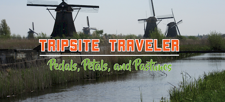 Tripsite Traveler: Pedals, Petals, and Pastimes with Peg Cass