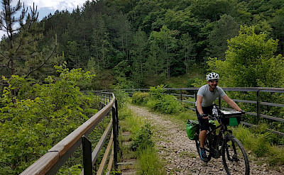 Biking the Istria to the Adriatic Bike Tour.