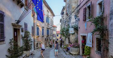 Groznjan on the Istria Peninsula, Croatia. Photo via Flickr:Arnie Papp