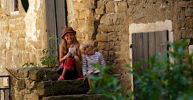 Quieter life in Groznjan, Istria, Croatia. Photo via Flickr:Marcus Hansson