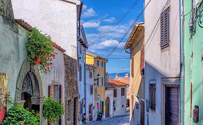 Bike rest in Motovun, Istria Peninsula, Croatia. Flickr:Arnie Papp