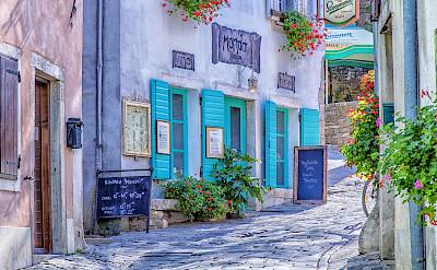 Restaurant in Motovun, Croatia. Flickr:Arnie Papp
