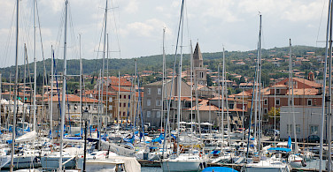 Muggia is the only Italian port town in Istria. Photo via Flickr:Chiaramarra