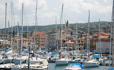 Muggia is the only Italian port town in Istria. Flickr:Chiaramarra