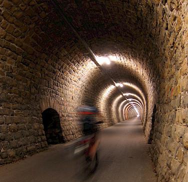 Biking the Parenzana and its tunnels through Italy, Slovenia and Croatia. Photo via Flickr:cpandmd