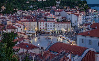 Piazza Tartini in Piran, Slovenia. CC:Marek Sliwecki