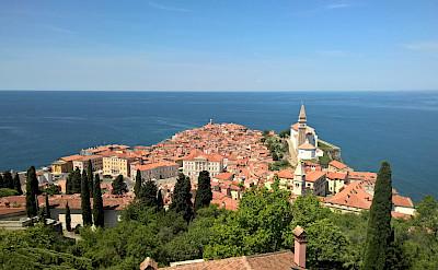 Piran on the Adriatic Sea is part of Slovenia Istria. CC:CC0 1.0