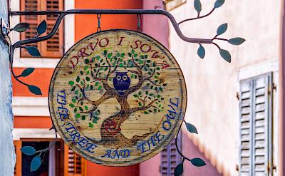 Sign in Motovun in Croatia. Flickr:Arnie Papp
