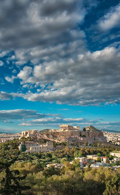 Acropolis of Athens, Greece. Flickr:Spirosparas