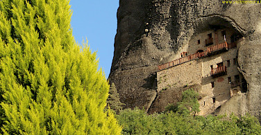 Cliff dwellings in Meteora, Greece. Photo courtesy of TO.