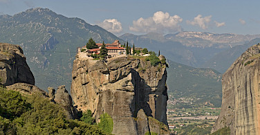 Great view of the unique monasteries in Meteora, Greece. Flickr:Harshil Shah