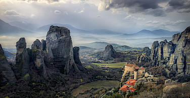 Another great view in Meteora, Greece. Creative Commons:Stathis floros